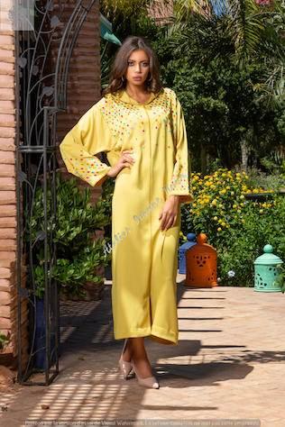 couture marocaine imane nour - jellaba4