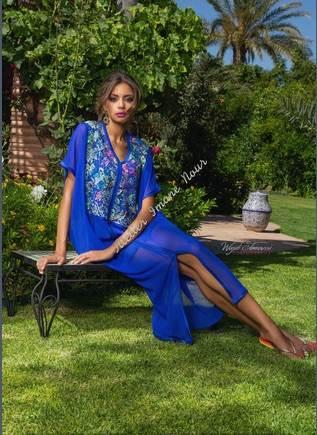 couture marocaine imane nour-sorties piscine